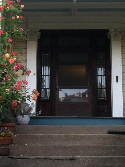 Maritza's porch