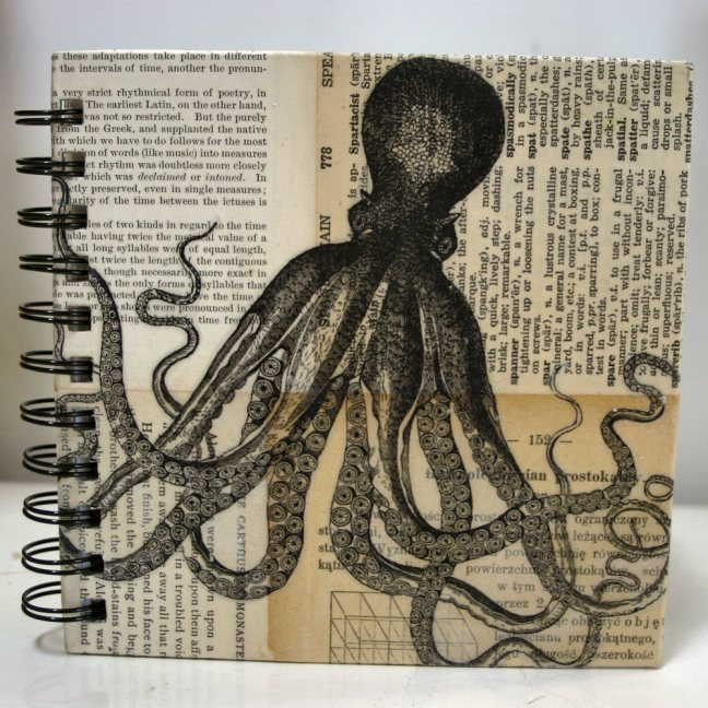 octopus journal by Heather aka Molly