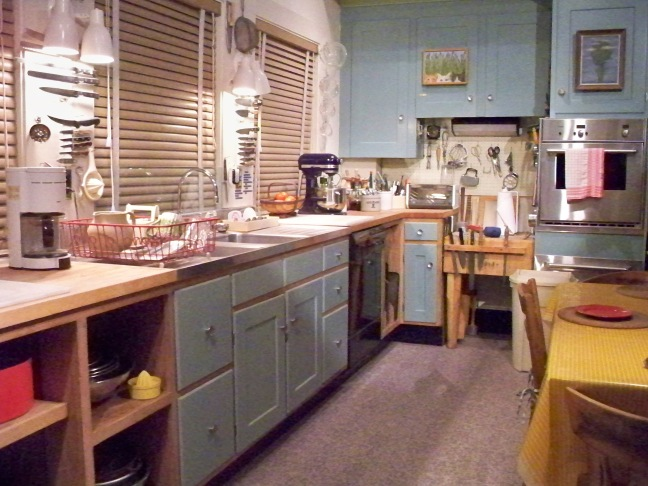Julia Child's kitchen in The Smithsonian, photo from Wikipedia