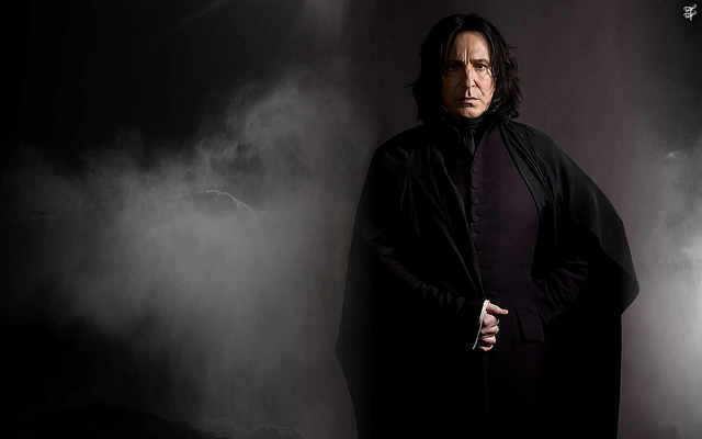 Severus Snape by juliooliveiraa on flickr