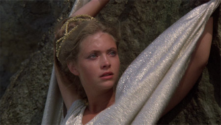 Andromeda in Clash of the Titans, 1981